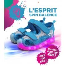 Sandale clignotante Led Bleue SA01