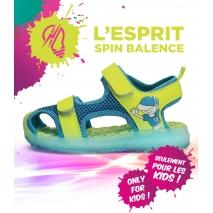 Sandale clignotante Led Jaune SA02